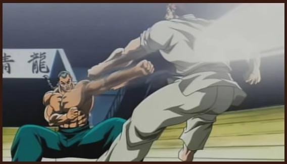 классное аниме про боевые искусства
