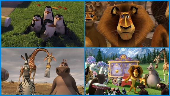 мультфильм Мадагаскар