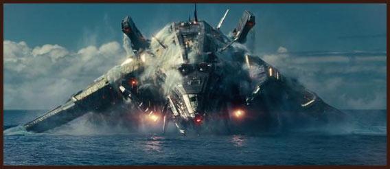 пришельцы в фильме морской бой