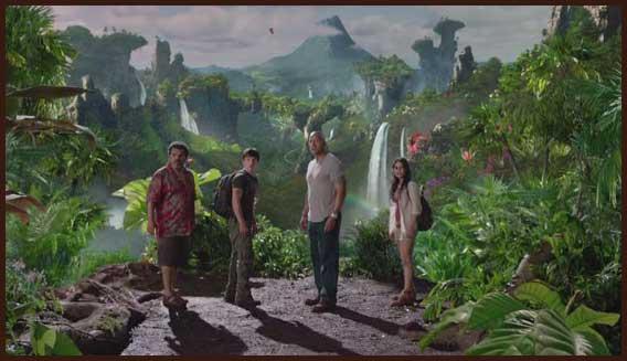 кино Путешествие 2 Таинственный остров