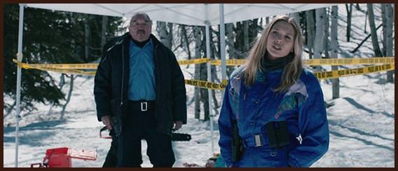 Агент ФБР Джейн Бэннер на месте преступления